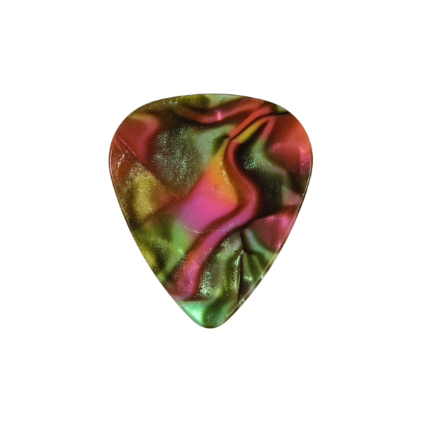 style 351 Celluloid custom guitar pick psychadelic