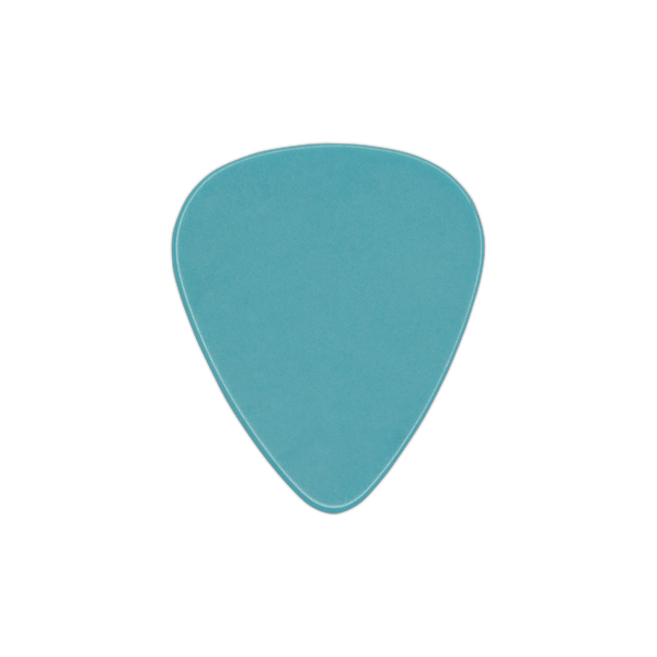 style 351 light blue celluloid custom guitar pick
