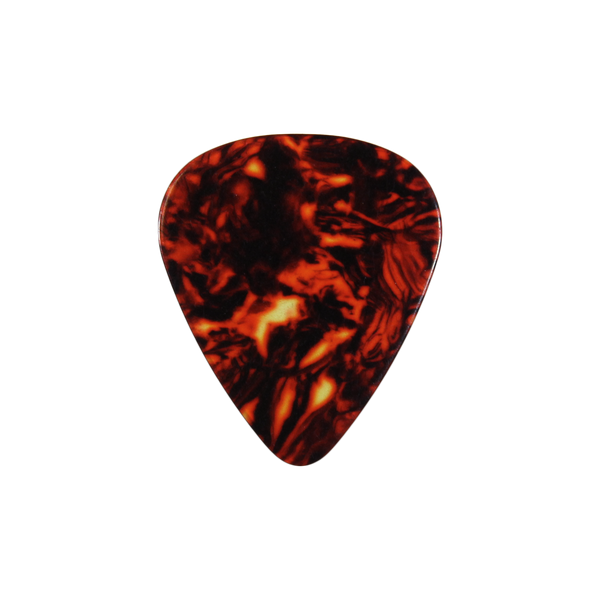 style 351 Celluloid custom guitar pick tortoise shell