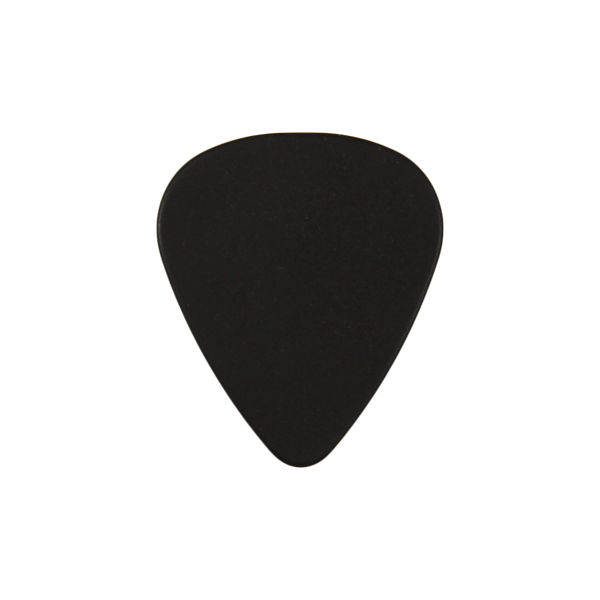 style 351 delrin custom guitar pick black