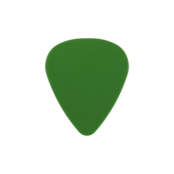 style 351 delrin custom guitar pick green
