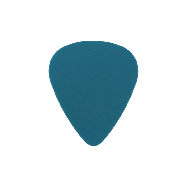 style 351 delrin custom guitar pick neon blue
