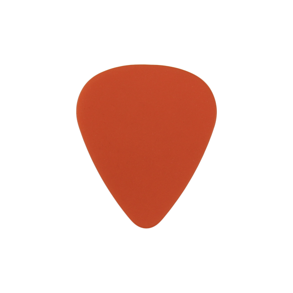 style 351 delrin custom guitar pick orange
