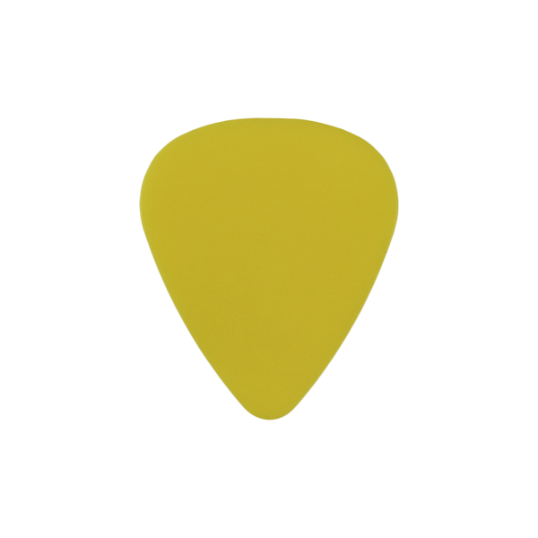 style 351 delrin custom guitar pick yellow
