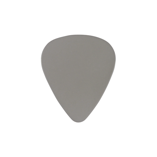 style 351 PVC custom guitar pick gray