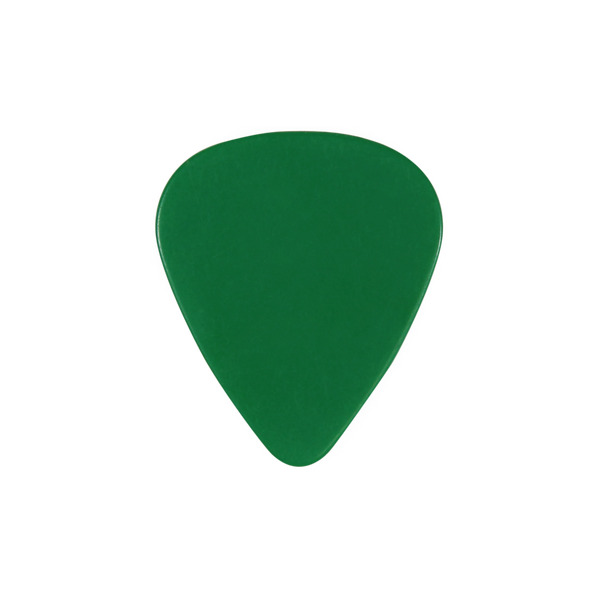 style 351 PVC custom guitar pick green