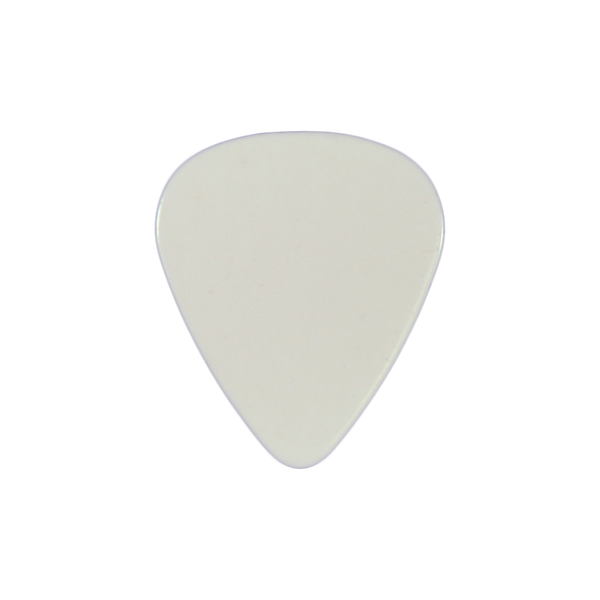style 351 PVC custom guitar pick white