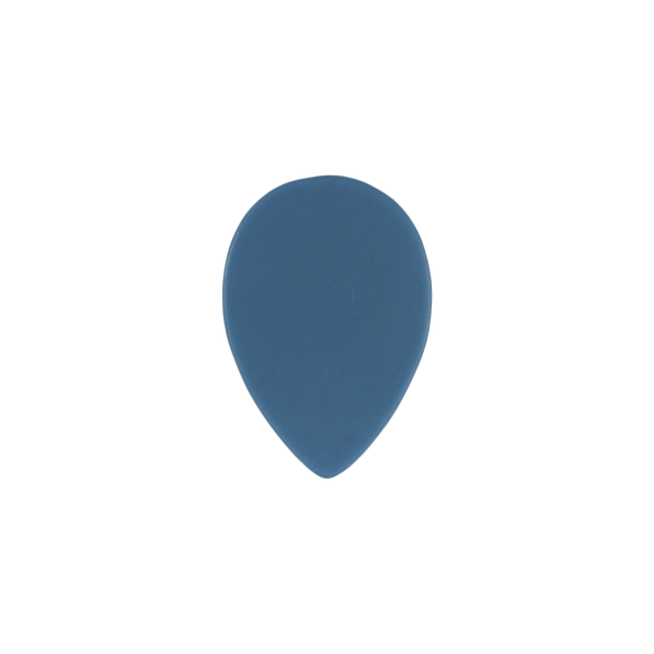 style 358 custom guitar pick delrin blue