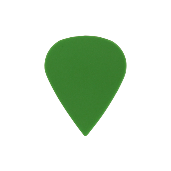 sharktooth custom guitar pick delrin green