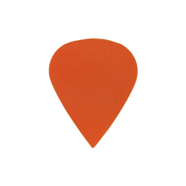 sharktooth custom guitar pick delrin orange