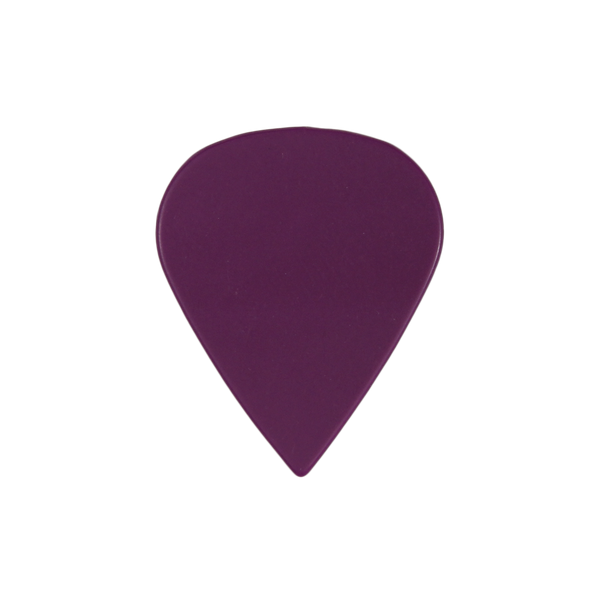 sharktooth custom guitar pick delrin purple