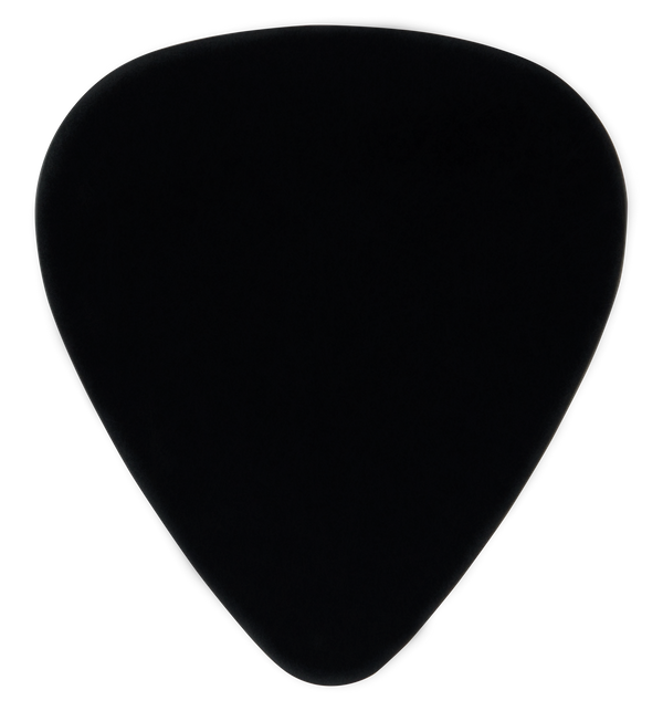 oversized custom guitar pick PVC black