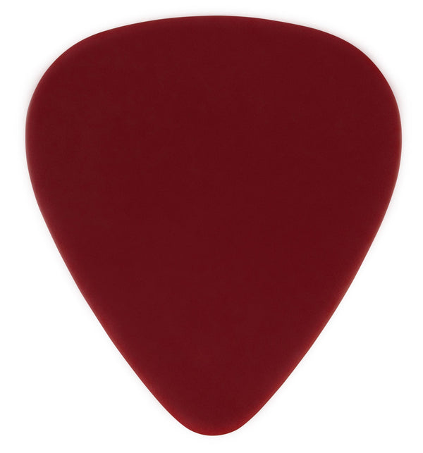 oversized custom guitar pick PVC red