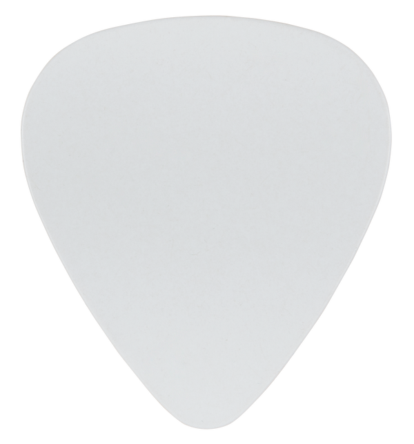 oversized custom guitar pick PVC white