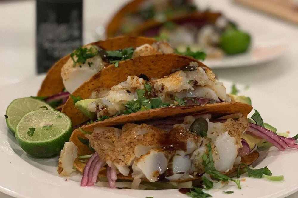 Recipe: Fish Tacos With Pumpkin Seed Oil