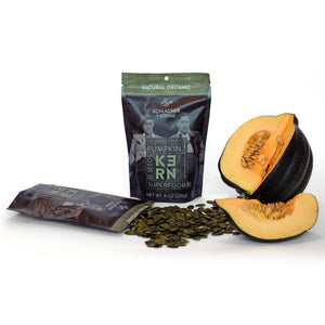Schlacher & Söhne Styrian Orgnaic Pumpkin Seeds, 100% Pure & Natural, Premium Quality Pepitas, Healthy Snacks, Raw, Fresh Superfood, Unsalted, Full of Proteins, Grown in Austria (Natural Organic, 8 oz) - Pumpkin Produce