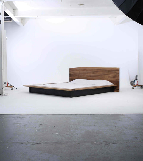 Behind the scenes of the Launch of the KAATJE Walnut Bed