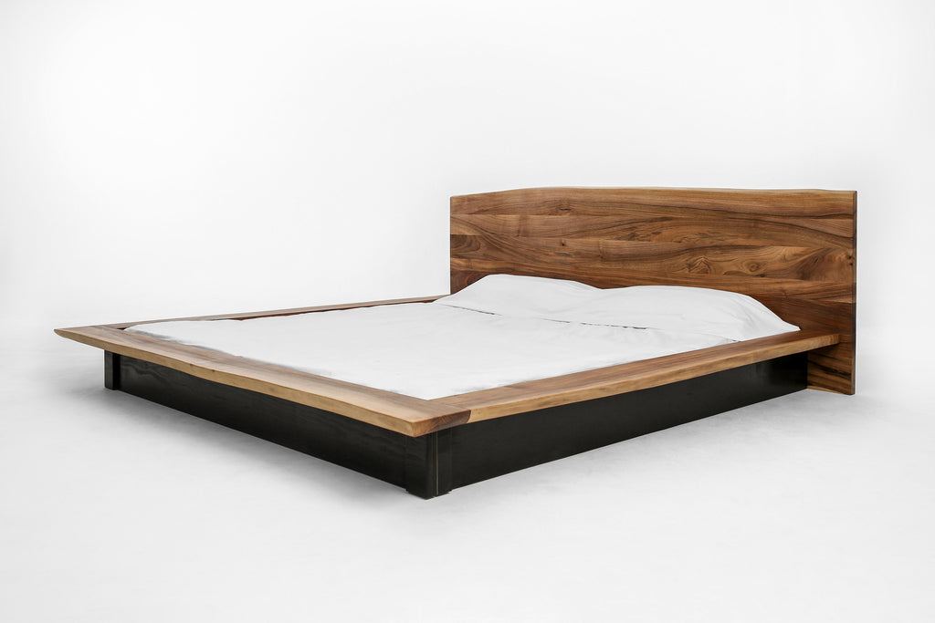 KAATJE Walnut Bed Frame Hardman Design