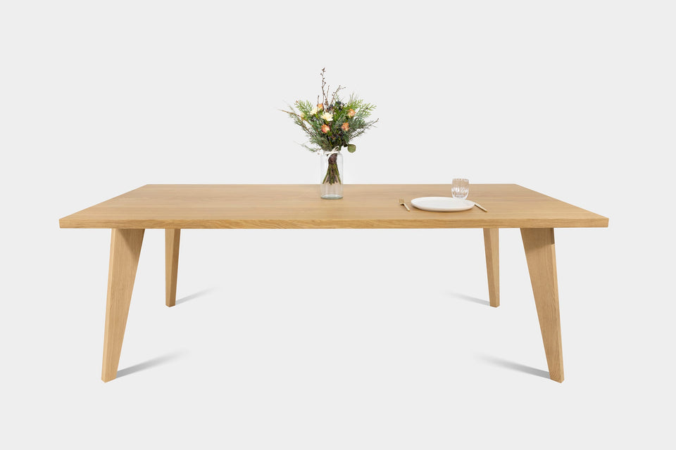 Handmade Table And Extendable Dining Table In Oak Or Walnut | AMBER Table-Hardman Design