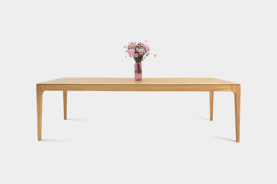 Bespoke Oak Dining Table | CAROLINA Dining Table-Hardman Design
