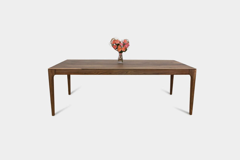 Handmade Walnut Dining Table | CAROLINA Dining Table-Hardman Design