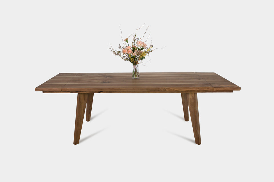 Extendable Dining Table In Oak Or Walnut | AMBER Extendable-Hardman Design