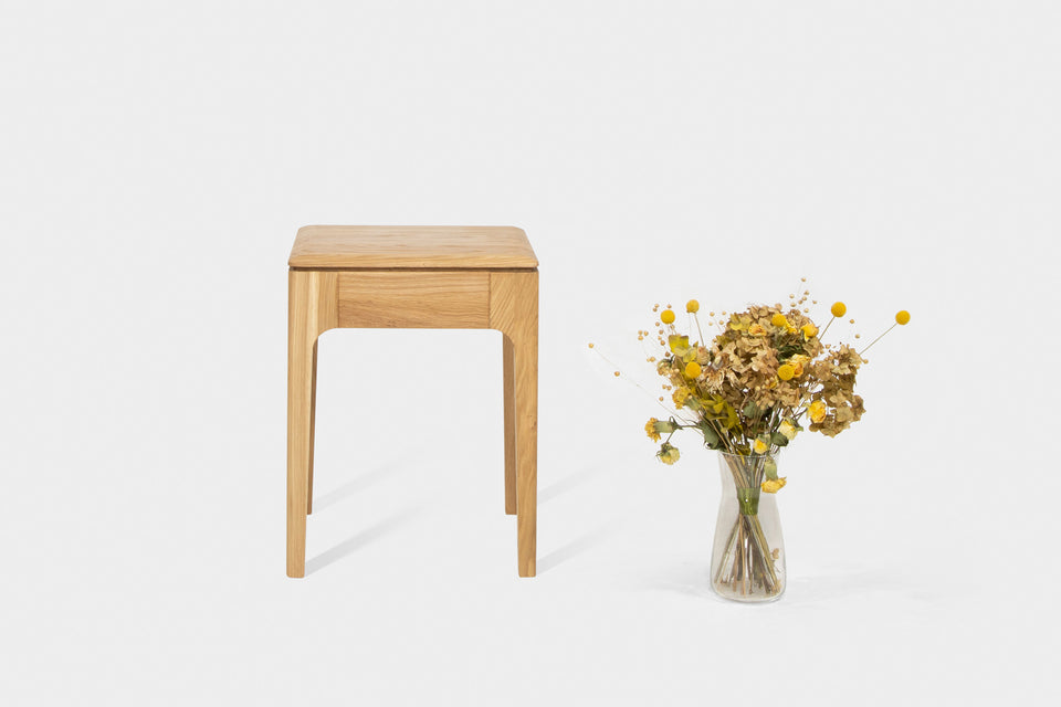 Handmade Oak Stool | CAROLINA Stool-Hardman Design