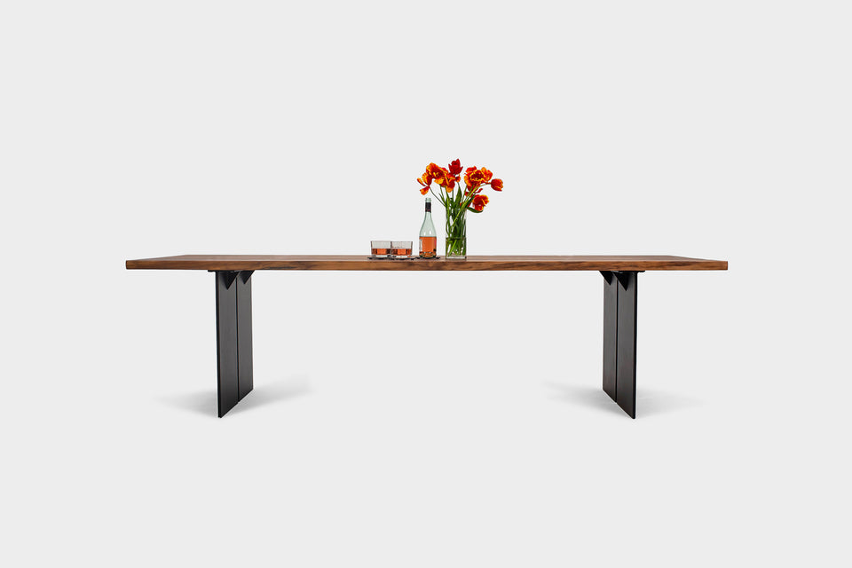 Bauhaus Dining Table | ORPHELIA Walnut Dining Table-Hardman Design