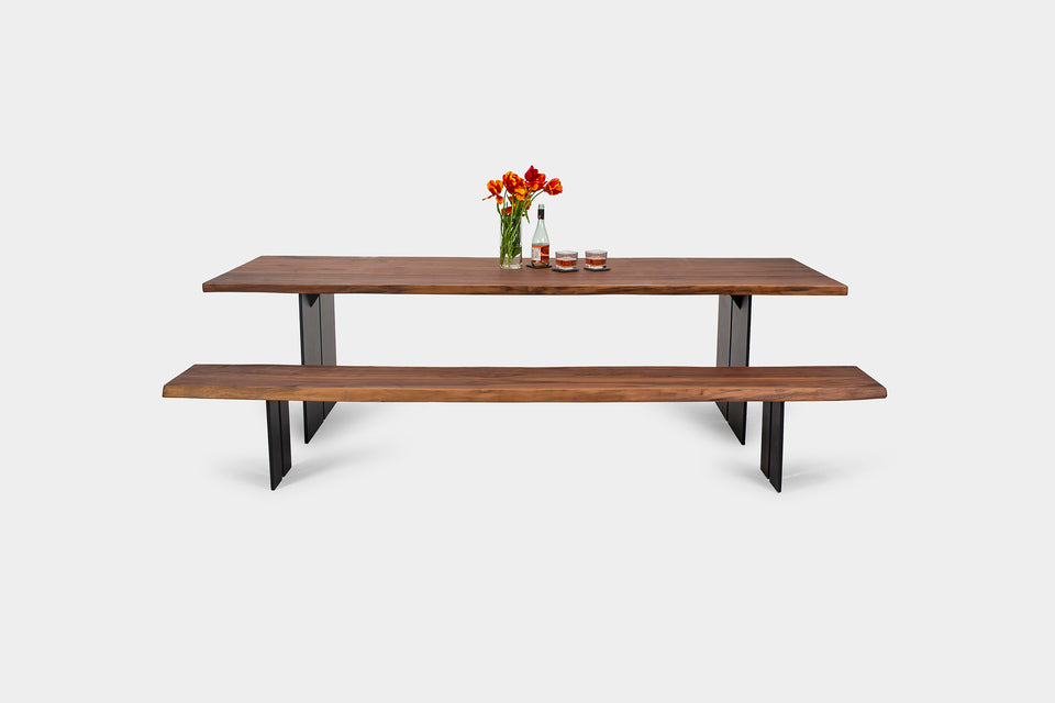 Bauhaus Dining Table and Bench | ORPHELIA Set-Hardman Design