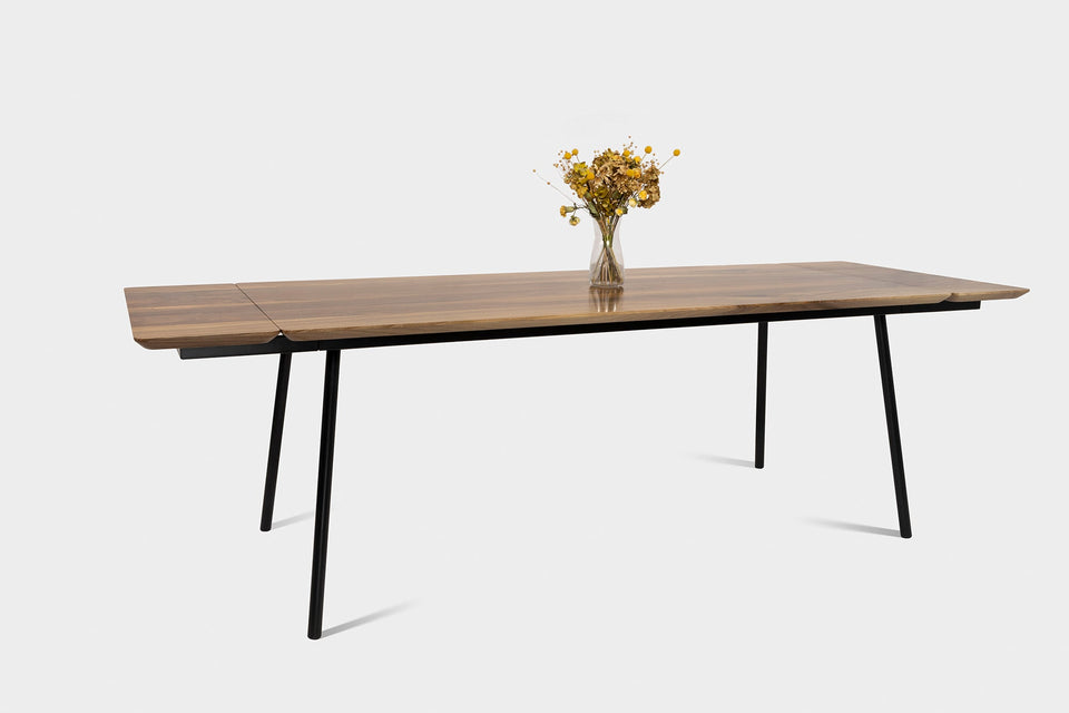 Mid Century Modern Walnut Dining Table | MARTA Dining Table-Hardman Design