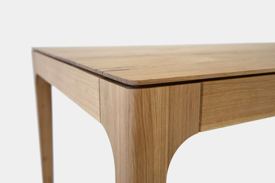 Handmade Solid Wood Table and Bench Set | CAROLINA Set-Dining Set-Liam Hardman-Hardman Design