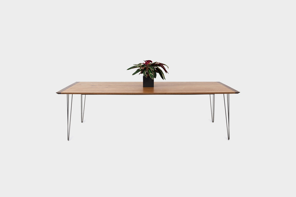 Mid Century Modern Oak Dining Table | EVE-Dining Table-Liam Hardman-Hardman Design