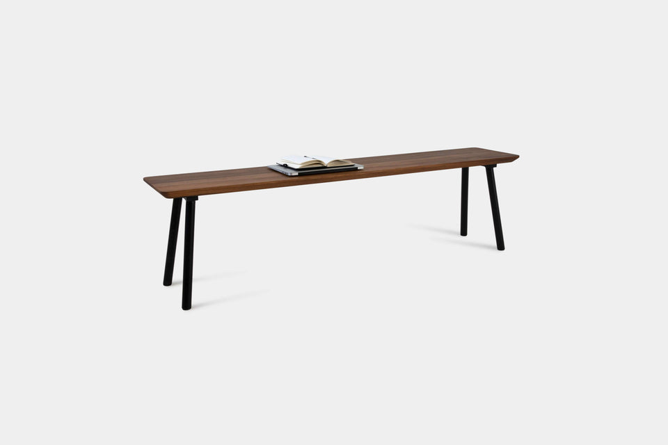 Mid Century Modern Walnut Dining Table & Bench Set | MARTA Set-Hardman Design