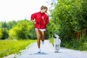DOGS LOVE TO RUN TOO!