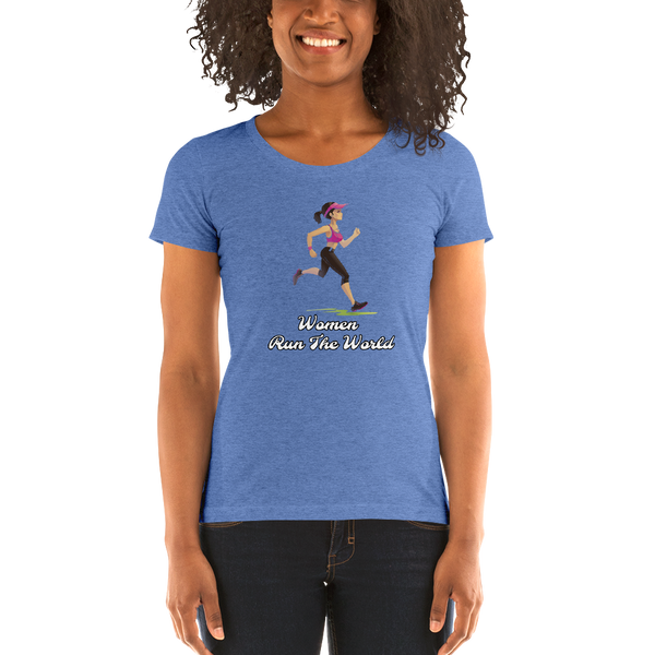 Women Run the World short sleeve t-shirt
