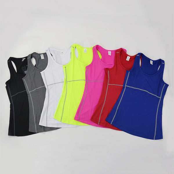 Active Women Fitness and Running Singlet.