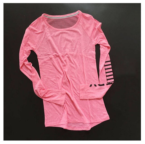 Women's Fitness Breathable Sportswear T-Shirt