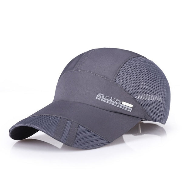 Breathable Thin Mesh Unisex Adjustable Sport Running Caps