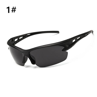 UV400 Sports Sunglasses for Runners, Cyclists and All Out Door Activities