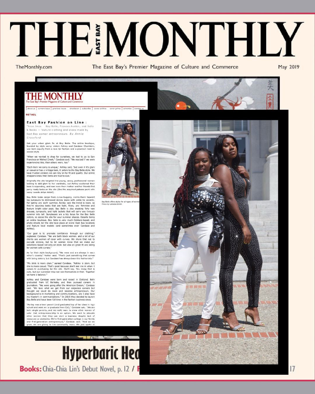 Bay Belle Founders featured in The Monthly
