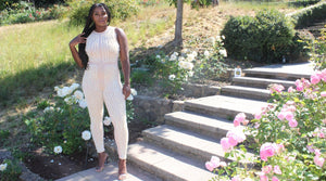Diamonds & Pearls Jumpsuit