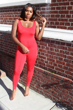 Caliente Lace Up Jumpsuit