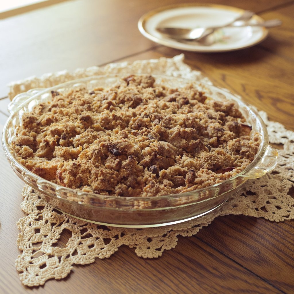 Apple crisp coming soon...