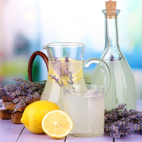 Lavender lemonade coming soon...