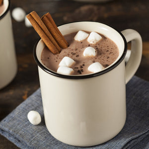 Hot chocolate coming soon...