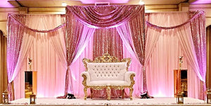 Custom Reception Draping