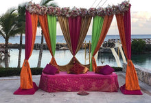 Load image into Gallery viewer, Mehndi Backdrop (8-10ft)
