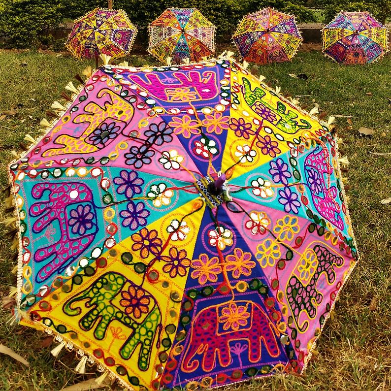 Indian Umbrellas