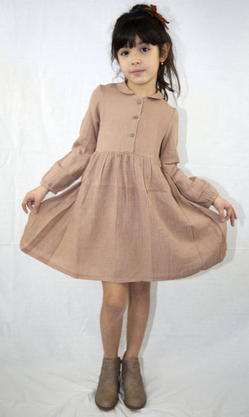 front button dress