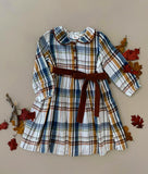 FALL PLAID DRESS - Ren & Rouge